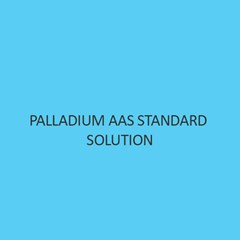 Palladium AAS Standard Solution
