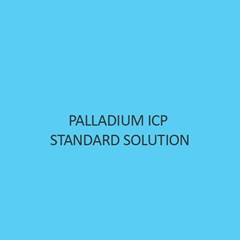 Palladium ICP Standard Solution