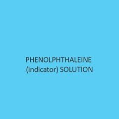 Phenolphthaleine (Indicator) Solution