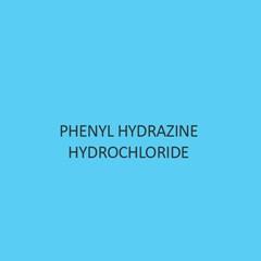 Phenyl Hydrazine Hydrochloride