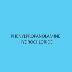 Phenylpropanolamine Hydrochloride