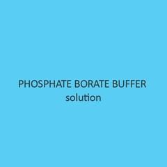 Phosphate Borate Buffer Solution