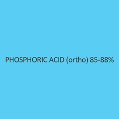 Phosphoric Acid (Ortho) 85 to 88 Percent