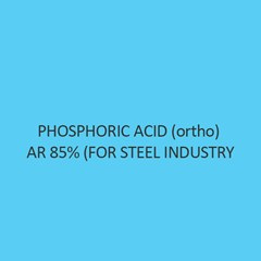 Phosphoric Acid (Ortho) AR 85 Percent (For Steel Industry)