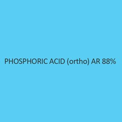 Phosphoric Acid (Ortho) AR 88 Percent (Ortho Phosphoric Acid)
