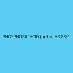 Phosphoric Acid (Ortho) AR 88 Percent (Ortho Phosphoric Acid)