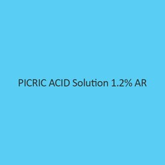 Picric Acid Solution 1.2 Percent AR