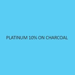 Platinum 10 Percent On Charcoal (Pt 10 Percent)