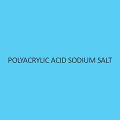 Polyacrylic Acid Sodium Salt