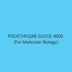 Polyethylene Glycol 4000 (For Molecular Biology)