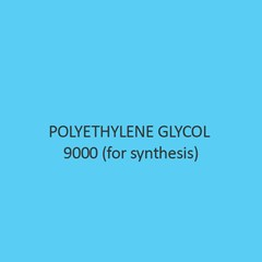 Polyethylene Glycol 9000 (For Synthesis) (Carbowax 9000)