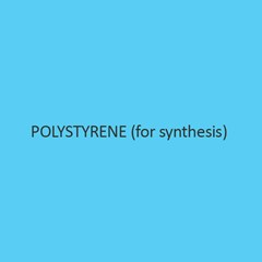 Polystyrene (For Synthesis)