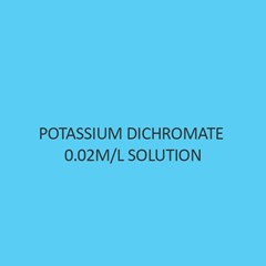 Potassium Dichromate 0.02M Per L Solution