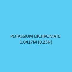 Potassium Dichromate 0.0417M (0.25N)