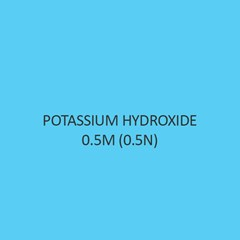 Potassium Hydroxide 0.5M (0.5N) In Ethanol