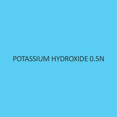 Potassium Hydroxide 0.5N (Solution In Water)