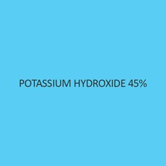 Potassium Hydroxide 45 Percent (Aqueous Solution) AR