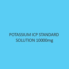 Potassium ICP Standard Solution 10000Mg Per L In Nitric Acid