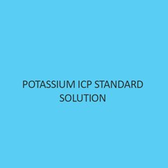 Potassium ICP Standard Solution 1000Mg Per L In Nitric Acid
