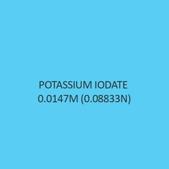 Potassium Iodate 0.0147M (0.08833N)
