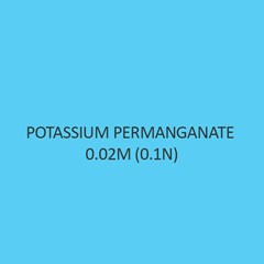 Potassium Permanganate 0.02M (0.1N)