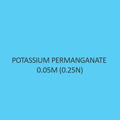 Potassium Permanganate 0.05M (0.25N)
