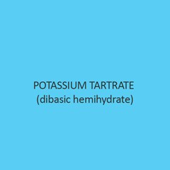 Potassium Tartrate (Dibasic Hemihydrate)