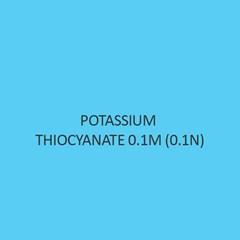 Potassium Thiocyanate 0.1M (0.1N)