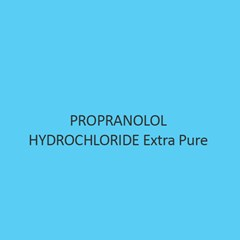 Propranolol Hydrochloride Extra Pure