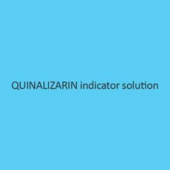 Quinalizarin Indicator Solution