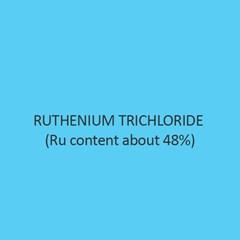 Ruthenium Trichloride (Ru 48 Percent)