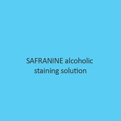 Safranine Alcoholic Staining Solution