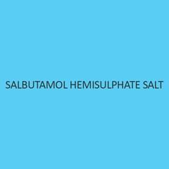 Salbutamol Hemisulphate Salt