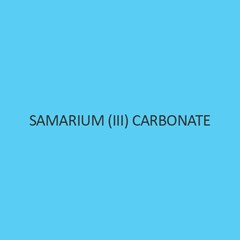 Samarium (III) Carbonate Hydrate