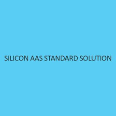 Silicon AAS Standard Solution 1000Mg per L In Water