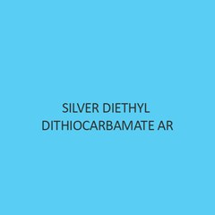 Silver Diethyl Dithiocarbamate AR