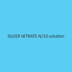 Silver Nitrate N per 10 Solution