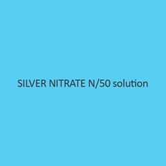Silver Nitrate N per 50 Solution