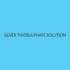 Silver Thiosulphate Solution