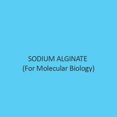 Sodium Alginate (For Molecular Biology)