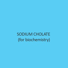 Sodium Cholate (For Biochemistry)