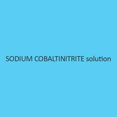 Sodium Cobaltinitrite Solution