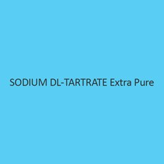 Sodium DL Tartrate Extra Pure