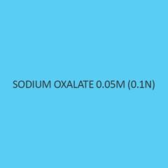 Sodium Oxalate 0.05m (0.1n)