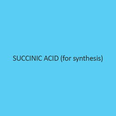 Succinic Acid (for synthesis)