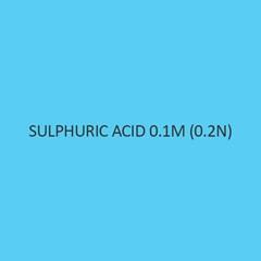 Sulphuric Acid 0.1M (0.2N)