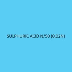 Sulphuric Acid N 50 (0.02n)