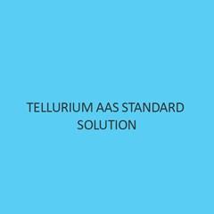 Tellurium AAS Standard Solution
