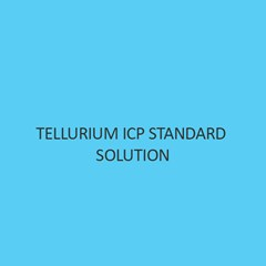 Tellurium ICP Standard Solution 1000 mg per L