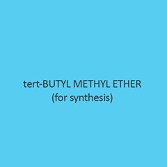 Tert Butyl Methyl Ether For Synthesis